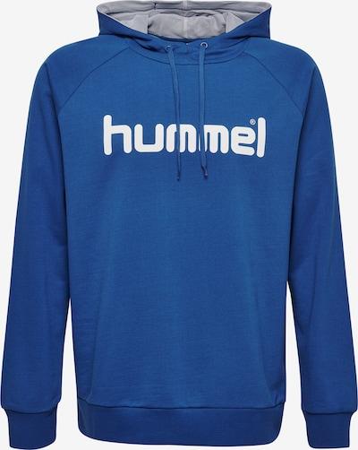 Hummel Sportsweatshirt in blau / weiß, Produktansicht