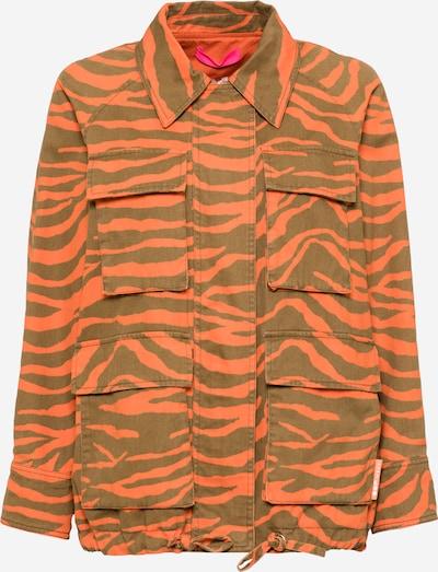 OOF WEAR Jacke in oliv / orange, Produktansicht