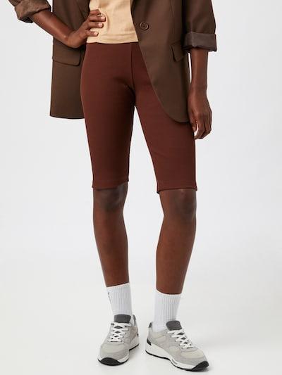 Blanche Leggings 'Rosa' en marrón rojizo, Vista del modelo