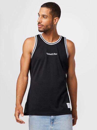 Mitchell & Ness Shirt in schwarz / weiß: Frontalansicht