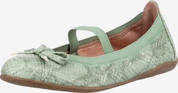 INDIGO Schuh in Grün