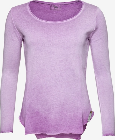 Cotton Candy Langarmshirt in lila, Produktansicht