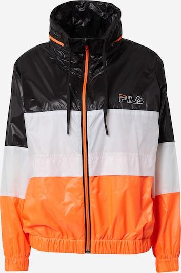 FILA Športová bunda 'Alberta' - oranžová / čierna / biela, Produkt