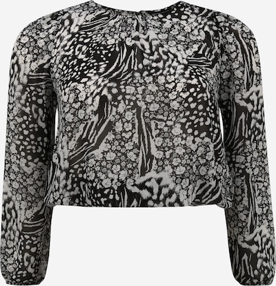 Dorothy Perkins T-shirt en noir / blanc, Vue avec produit