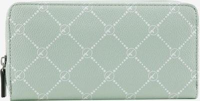 TAMARIS Geldbörse 'Anastasia' in mint / weiß, Produktansicht