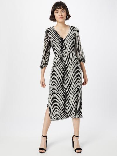 Freebird Kleid in schwarz / weiß, Modelansicht