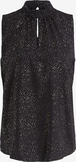 SET Bluse in schwarz / silber / weiß, Produktansicht