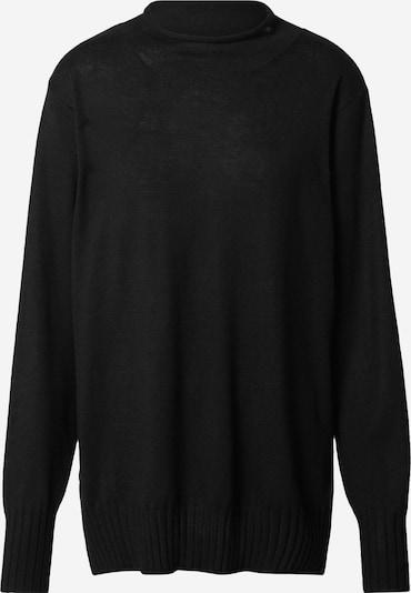 Rich & Royal Pullover 'Mock' in schwarz, Produktansicht