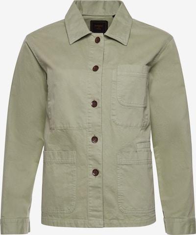 Superdry Jacke in grün, Produktansicht
