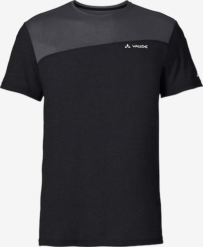 VAUDE T-Shirt 'Sveit' in anthrazit / schwarz, Produktansicht