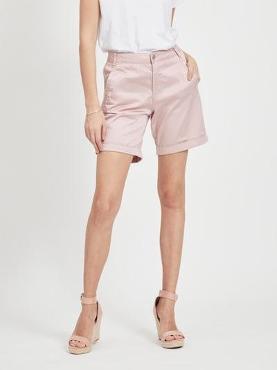 VILA Pantalon 'VICHINO' en rose, Vue avec modèle