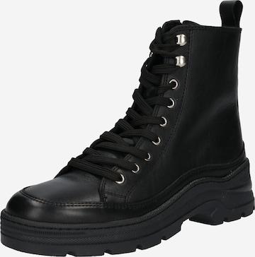 ABOUT YOU Snørestøvler 'Alia' i svart