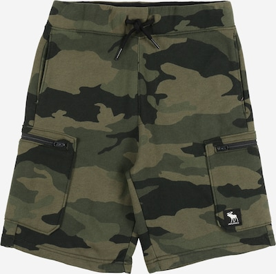 Abercrombie & Fitch Shorts 'UTILITY' in khaki / oliv / tanne, Produktansicht