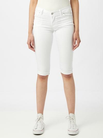 Jeans 'Jenna' Hailys pe alb denim, Vizualizare model