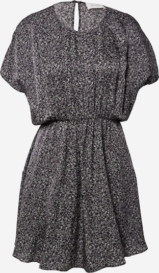 AMERICAN VINTAGE Robe en gris foncé / noir / blanc, Vue avec produit