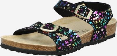 BIRKENSTOCK Sandale 'Rio' in mischfarben / schwarz, Produktansicht