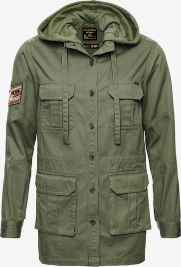 Superdry Jacke  'Core Military' in oliv, Produktansicht
