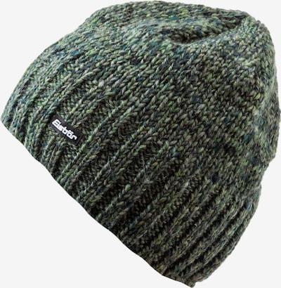 Eisbär Mütze 'Wally' in grünmeliert / schwarz / weiß, Produktansicht