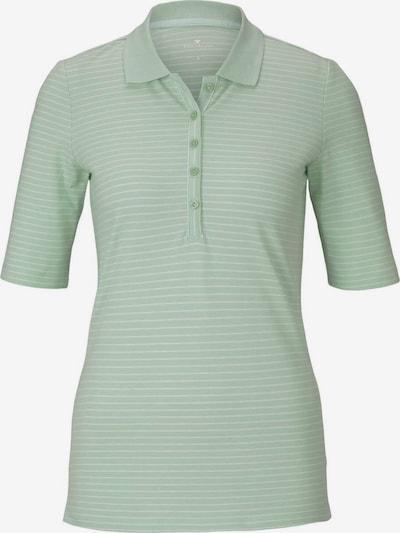 TOM TAILOR Poloshirt in pastellgrün, Produktansicht
