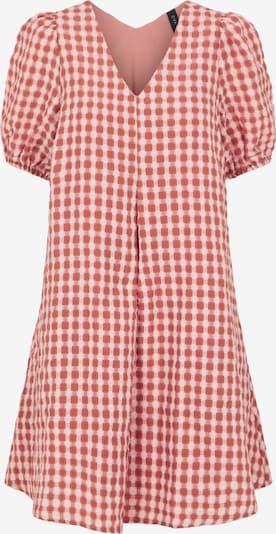Y.A.S Kleid in rosé / altrosa / weiß, Produktansicht