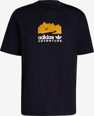 ADIDAS ORIGINALS T-Shirt in nachtblau / gelb / weiß, Produktansicht