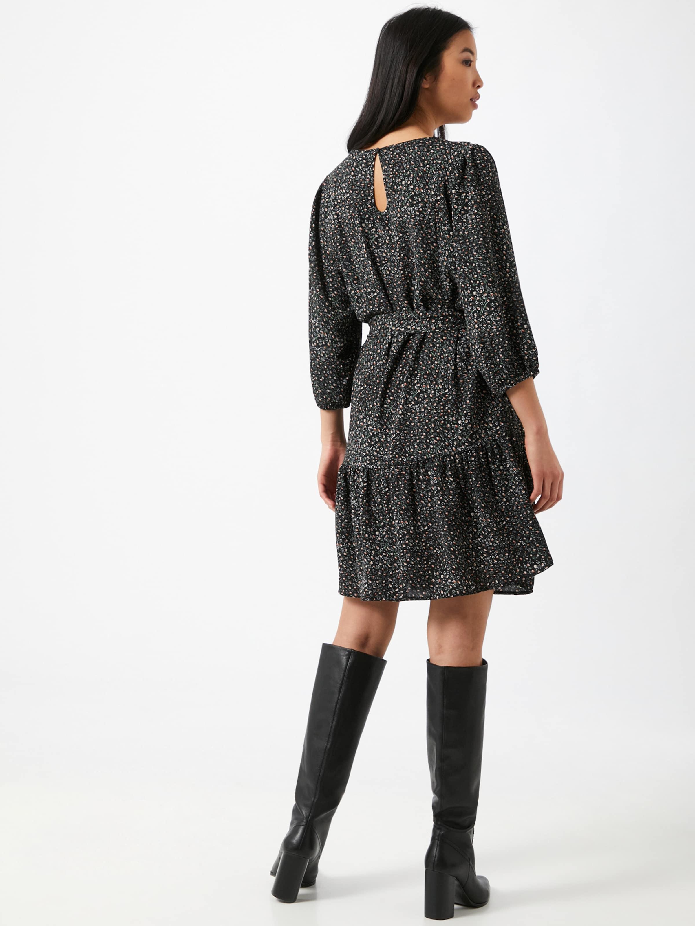 JACQUELINE de YONG Klänning 'Piper' i blandade färger / svart