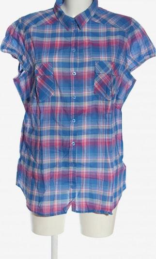 John Baner JEANSWEAR Kurzarmhemd in 4XL in blau / grün / pink, Produktansicht