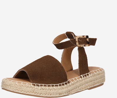 Sandale 'Clara' ESPRIT pe maro, Vizualizare produs