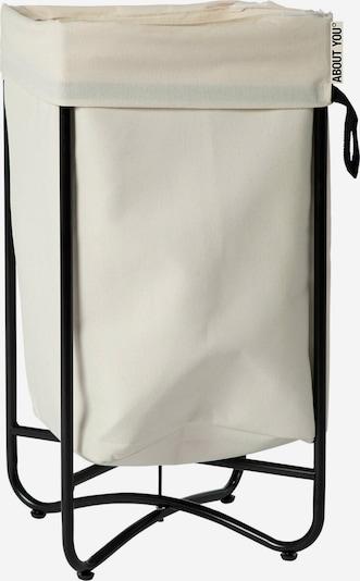 ABOUT YOU Wäschekorb 'Simply Fine' in beige, Produktansicht