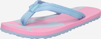 PUMA Claquettes / Tongs 'Epic' en bleu fumé / rose, Vue avec produit