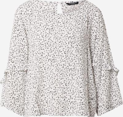 ZABAIONE Bluse 'Beatrix' in schwarz / offwhite, Produktansicht