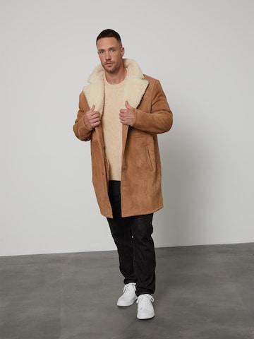 DAN FOX APPAREL Преходно палто 'Ilias' в бежово