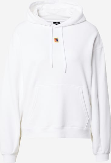 NIKE Athletic Sweatshirt in Sky blue / Yellow / Melon / Off white, Item view