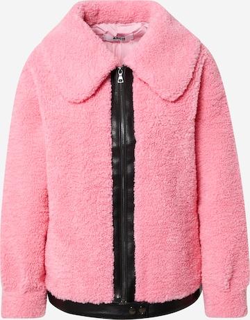 Arch The Label Φθινοπωρινό και ανοιξιάτικο μπουφάν 'BELLA' σε ροζ