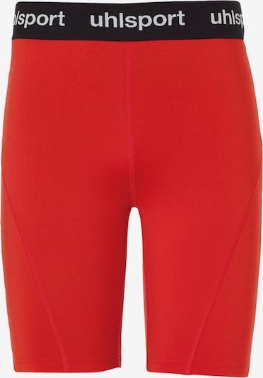 UHLSPORT Unterwäsche in rot / schwarz / weiß, Produktansicht