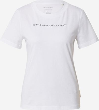 Marc O'Polo T-shirt i svart / off-white, Produktvy