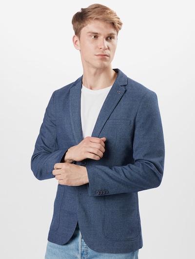 TOM TAILOR Veste de costume en bleu, Vue avec modèle