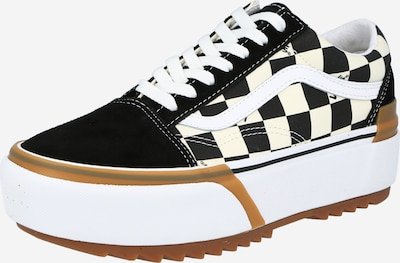VANS Sneakers low 'UA Old Skool Stacked' in Black / White, Item view