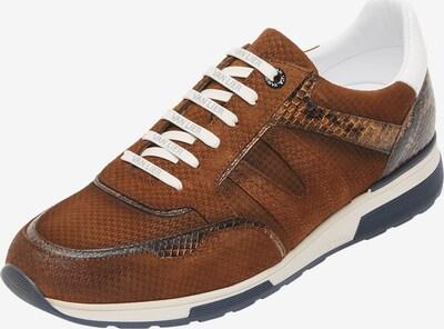 Van Lier Sneaker 'Positano ' in braun / weiß, Produktansicht