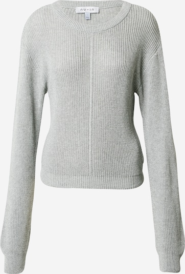 NU-IN Pullover in grau, Produktansicht