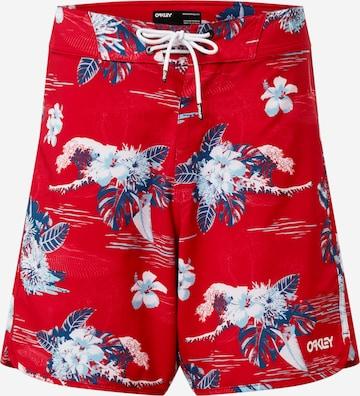 OAKLEY Surfaripüksid, värv punane