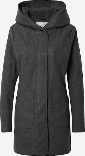 Palton de primăvară-toamnă Q/S by s.Oliver pe negru amestecat, Vizualizare produs