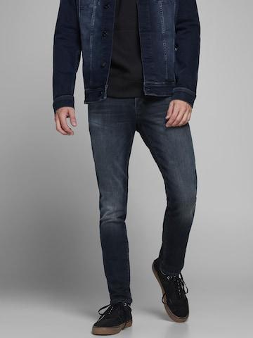 JACK & JONES Jeans 'JJIGLENN' in Blau
