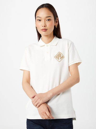 POLO RALPH LAUREN Shirt in Brown / White, View model
