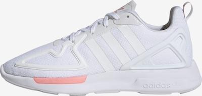 ADIDAS ORIGINALS Sneakers laag 'ZX 2K Flux' in de kleur Grijs / Zalm roze / Wit, Productweergave