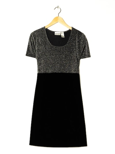 Fashion Bug Samtkleid in M in schwarz, Produktansicht
