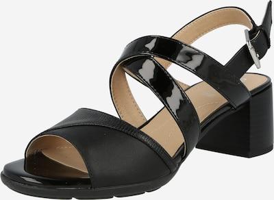 GEOX Сандали с каишка 'Mary Karmen' в черно, Преглед на продукта