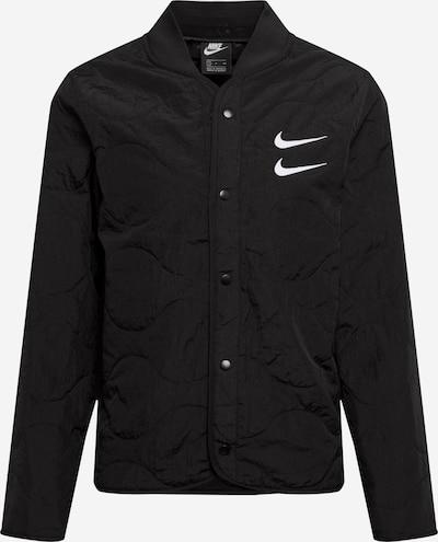 fekete / fehér Nike Sportswear Átmeneti dzseki, Termék nézet