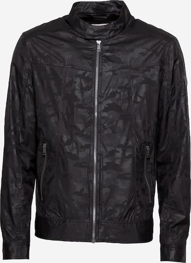 GUESS Jacke in stone / dunkelgrau / schwarz / weiß, Produktansicht