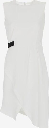 Jimmy Sanders Kleid Lourdes mit unifarbenem Stoff in naturweiß, Produktansicht